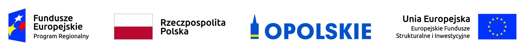 Logo stopki, Fundusze Europejskie, Opolskie Kwitnące, Europejskie fundusze strunturalne