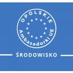 Logo Opolska Ambasadorka UE z nazwą kategorii:środowisko