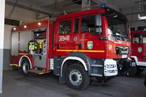 zdjęcie wozu strażackiego