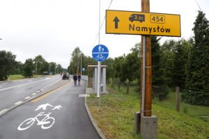 Przebudowa drogi wojewódzkiej nr 454 w Ładzy