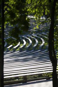 zdjęcie widowni Amfiteatru w Brzegu